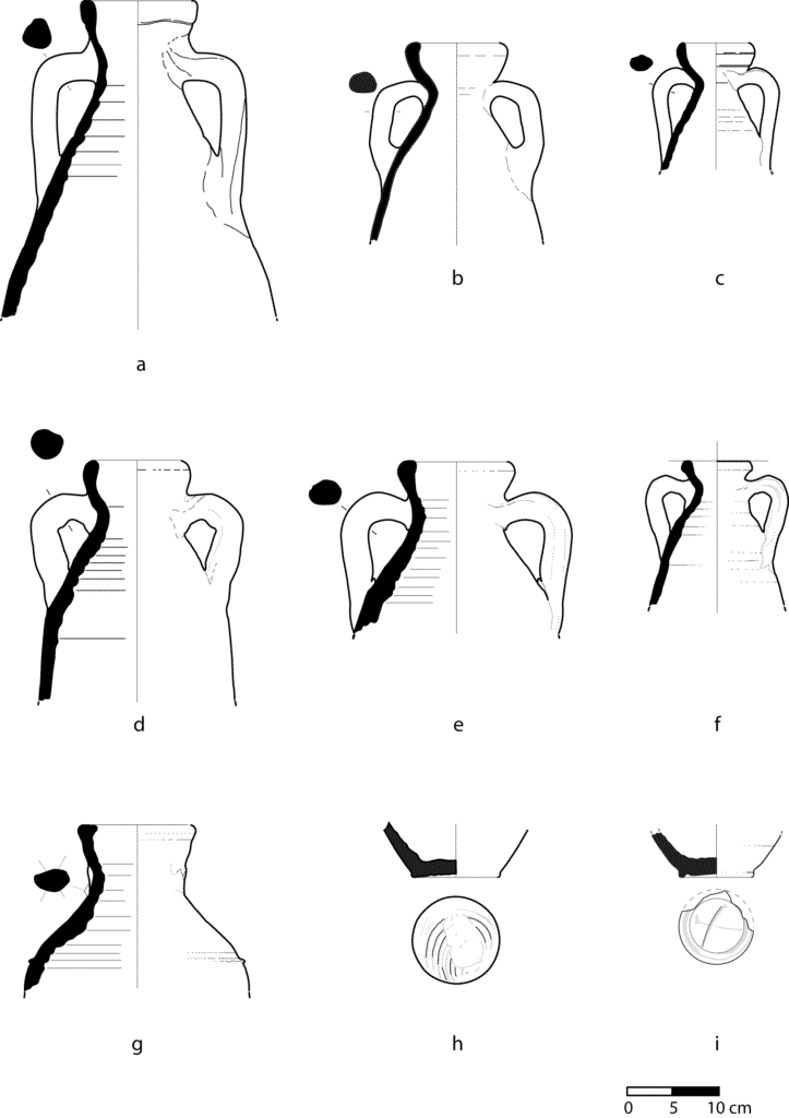 The forms of Fažana amphorae, 2nd–4th century.