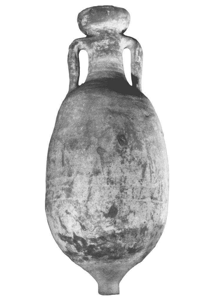 Anfora Dressel 6B con bollo L. TRE. OPTA da Padova.