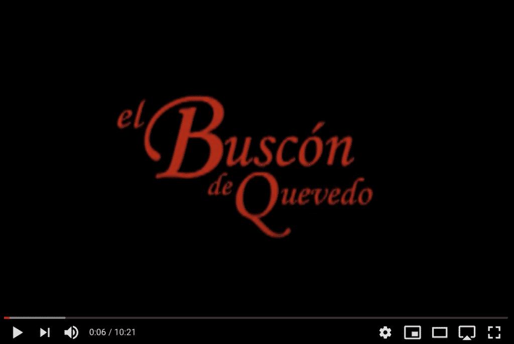 Adaptation théâtrale du Buscon de Quevedo