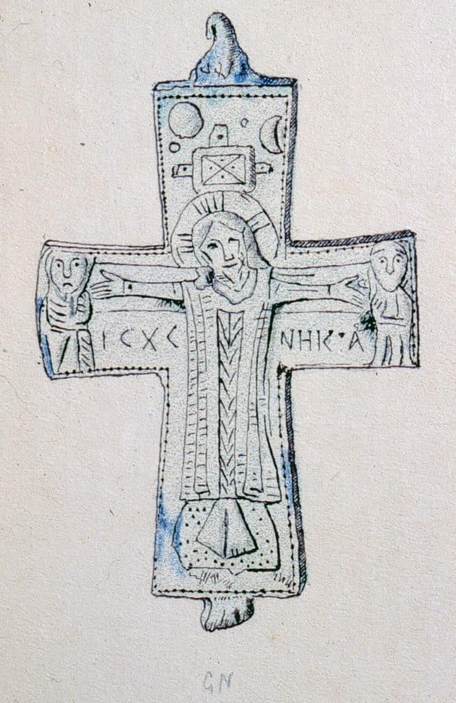 Croix reliquaire