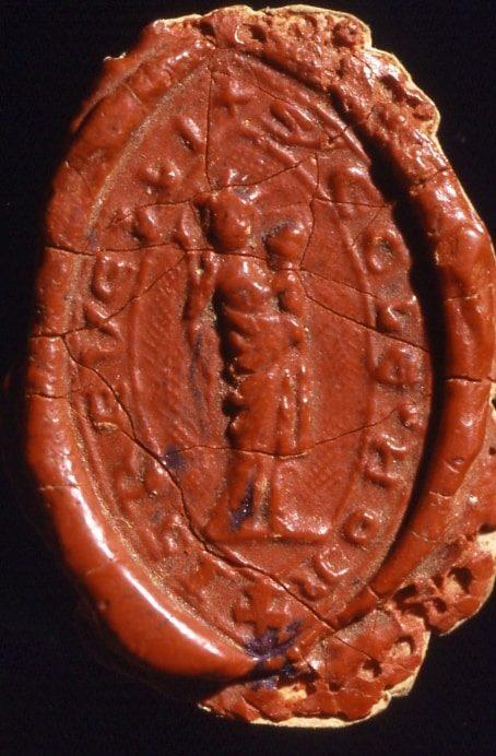 Cachet de cire du sceau
