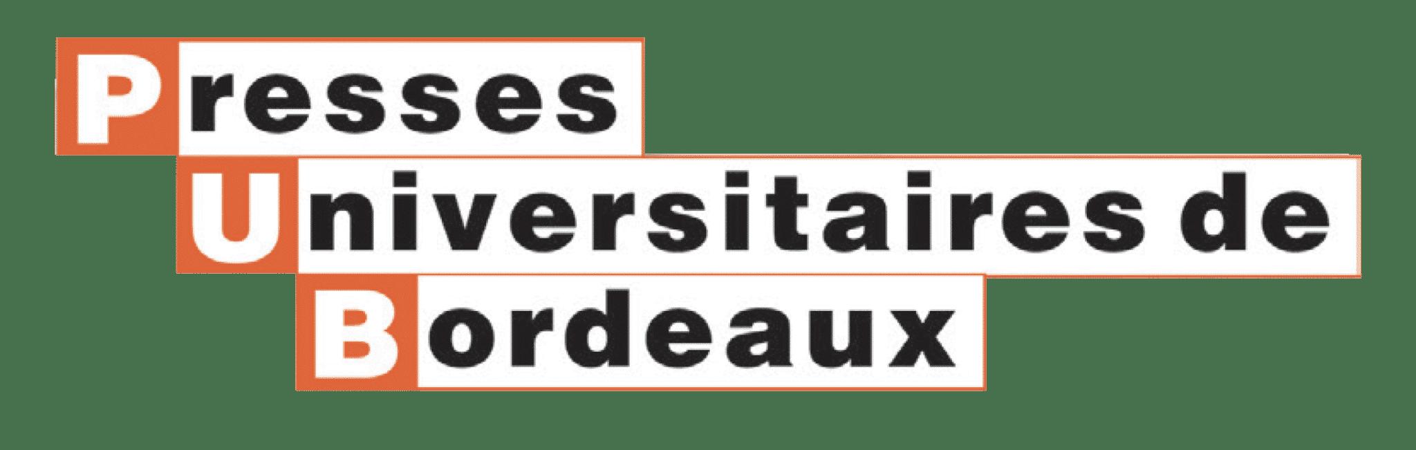 logo presses universitaires de Bordeaux