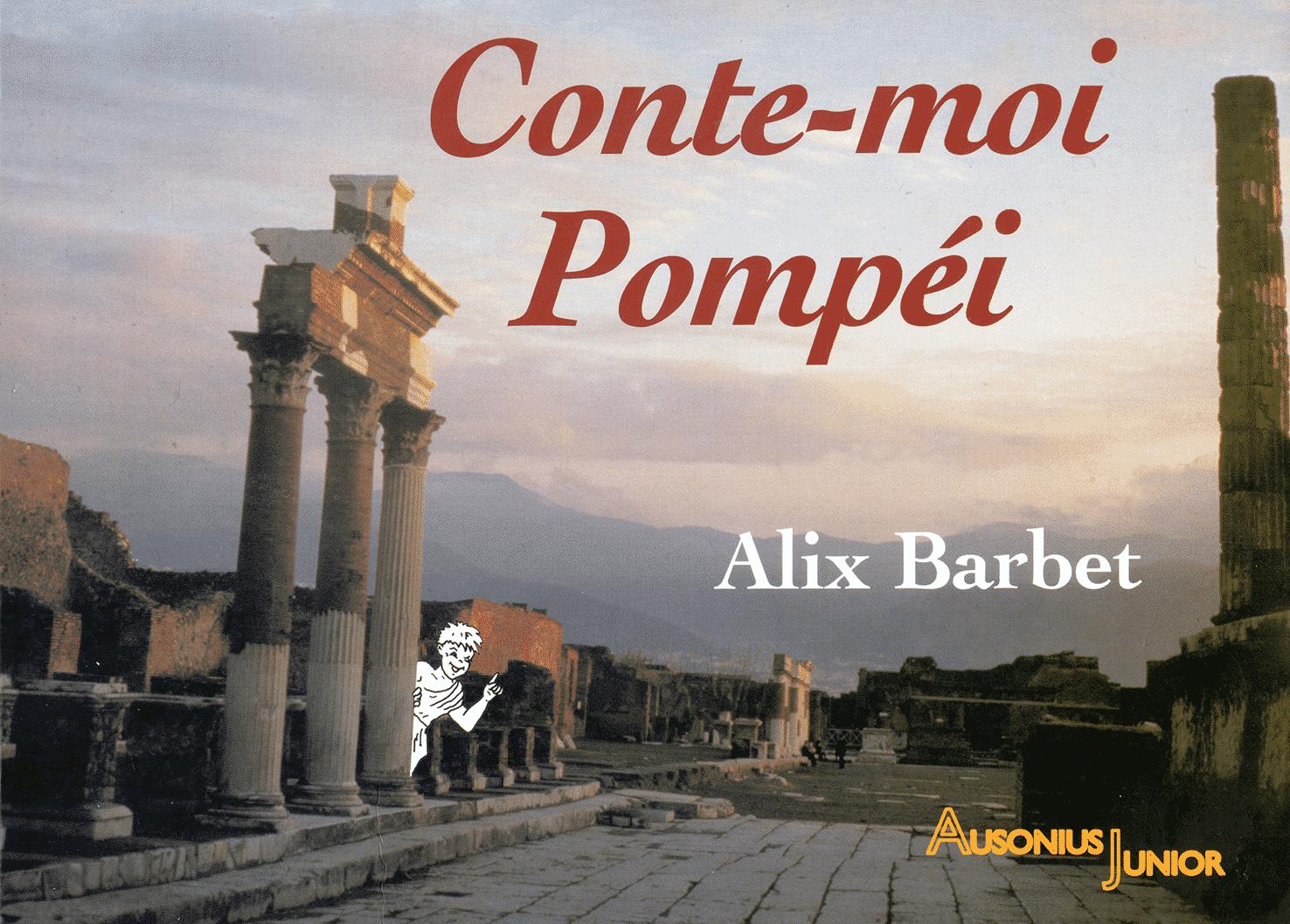 couverture de Conte-moi Pompéi version papier