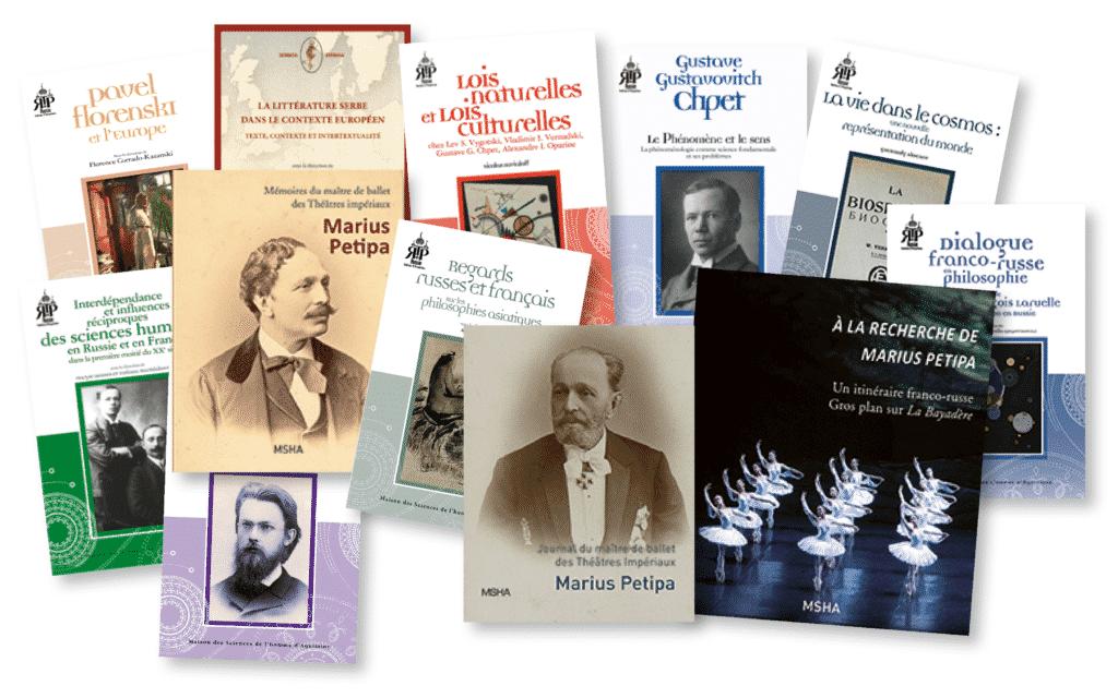 couvertures des livres parus dans la collection RTP